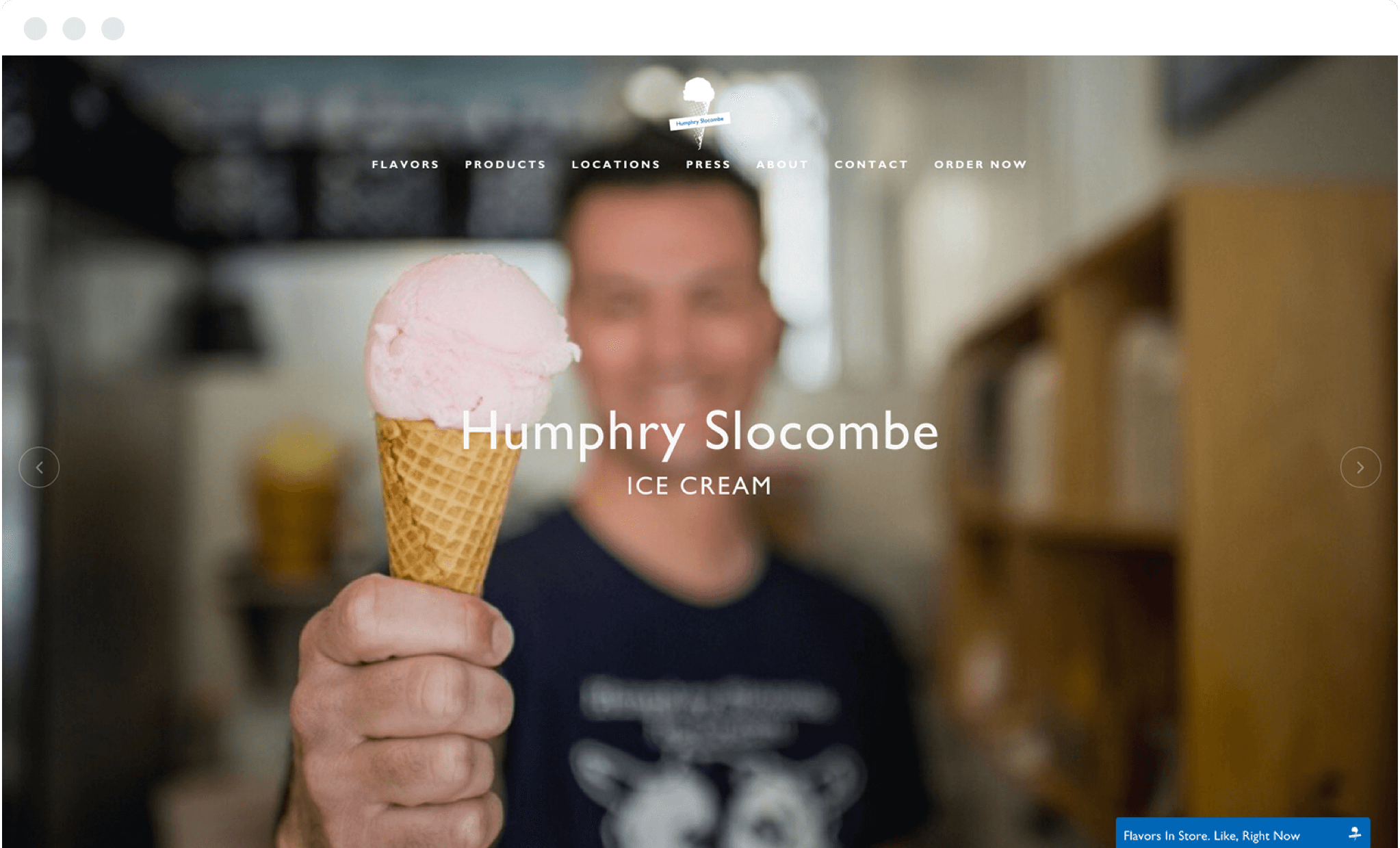 Humphry Slocombe Website